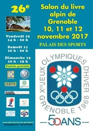 26 ème salon du livre Alpin de Grenoble au Palais des sports