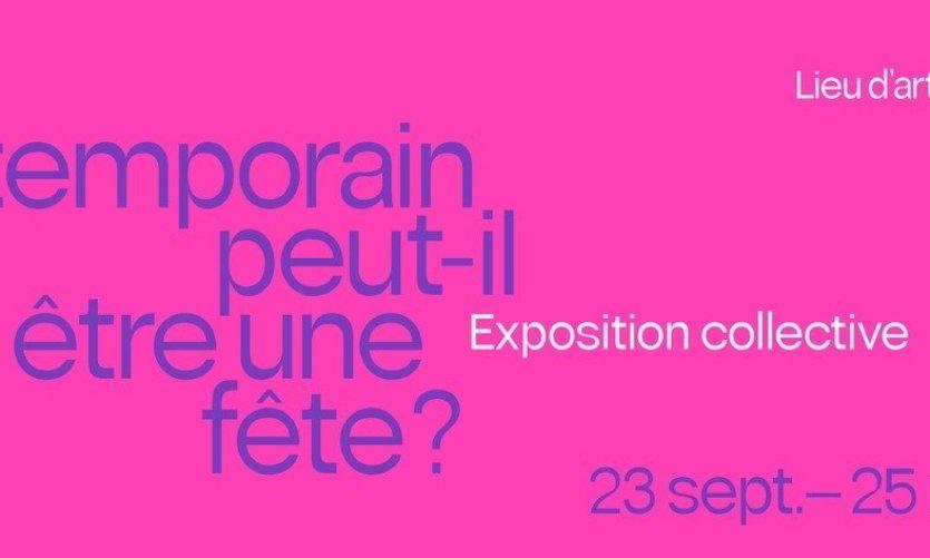 L'Aspirateur « L'art contemporain peut-il être une fête? »