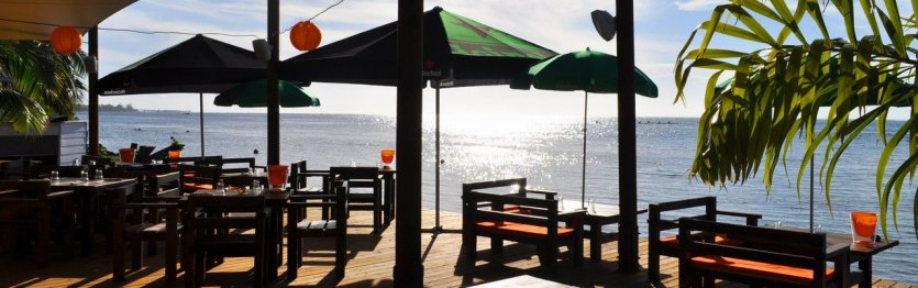 Le Moorea Beach Cafe - © Moorea beach cafe