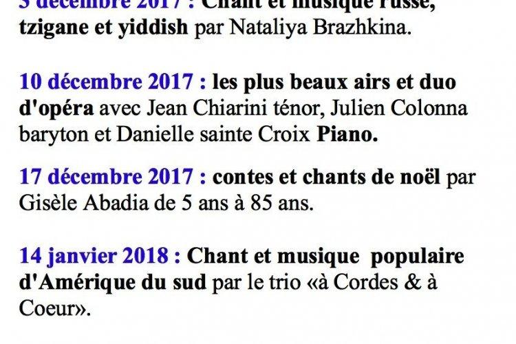 Programme Marseille décembre - © feminin pluriel