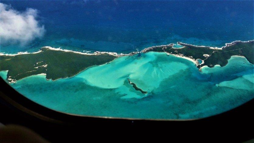 Vue aérienne des Bahamas - © Roxane LAMOUILLE