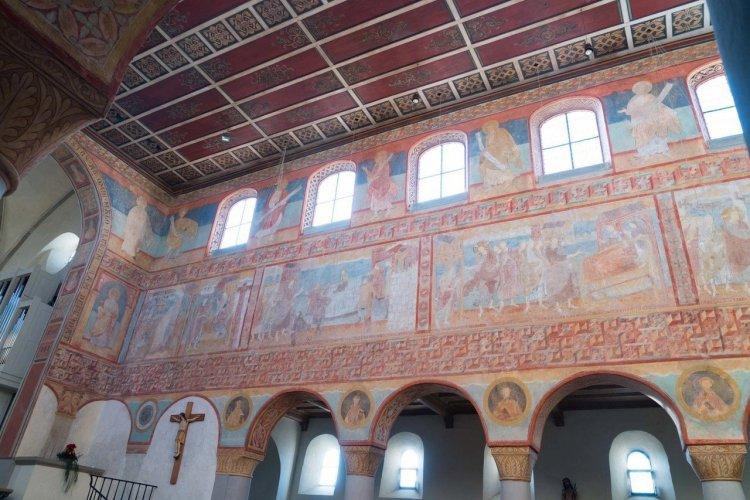 Peintures murales de l'église Saint-Georges sur l'île de Reichenau - © Alla Khananashvili - Shutterstock.com