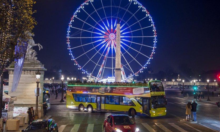 MAGIQUE : Open Tour Paris lance son parcours spécial Illuminations de Noël