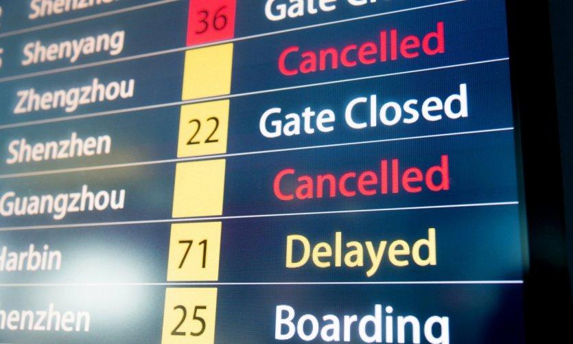 Avion annulé, quels droits pour les passagers ?