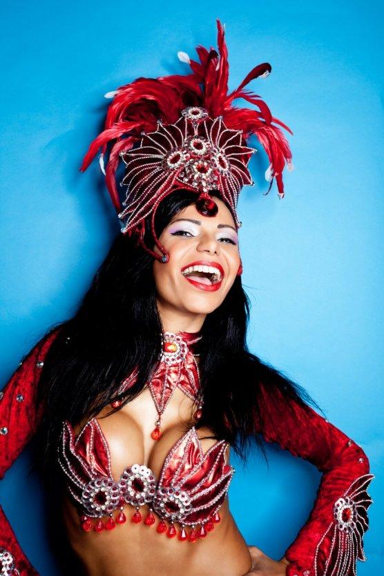 Danseuse brésilienne.