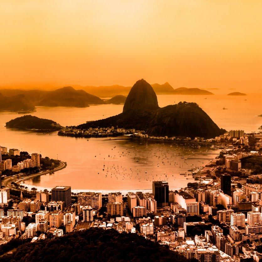 Vue sur Rio et sur le Pain de Sucre.