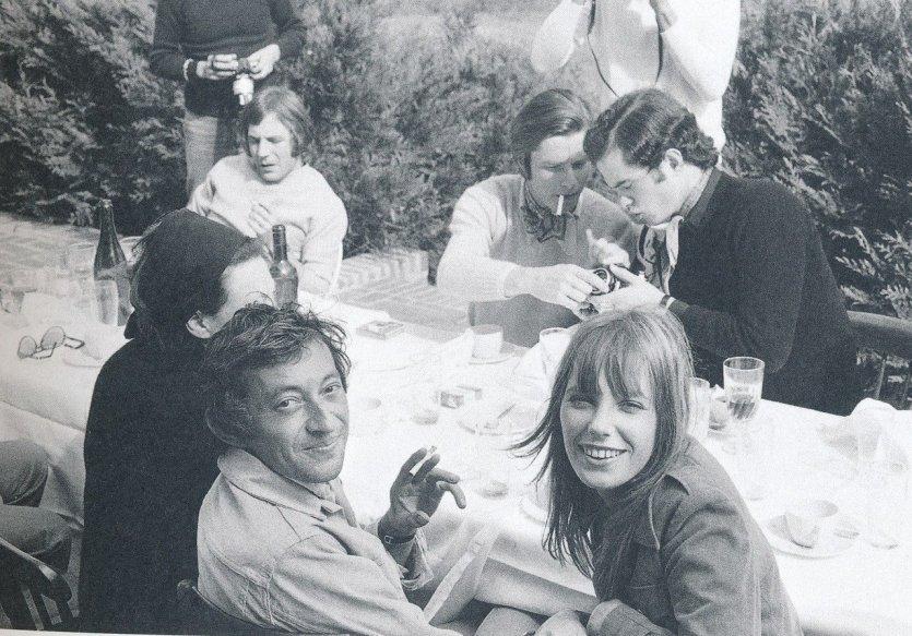 Déjeuner à Deauville, 1969 - © Andrew Birkin
