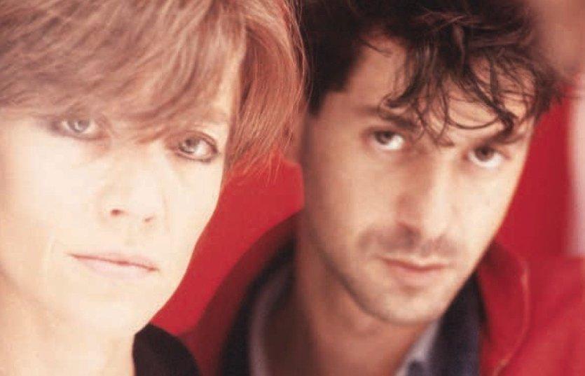 Françoise Hardy et Etienne Daho, 1985 - © Antoine Giacomoni / Mandrakimage