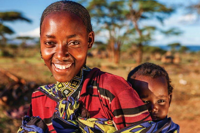 Famille de la tribu Borana Oromo.
