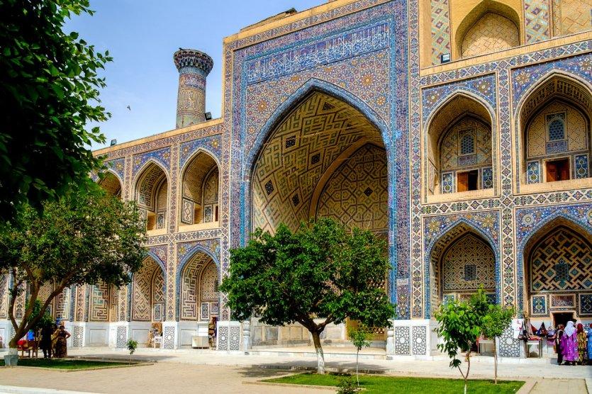 Place du Registan.