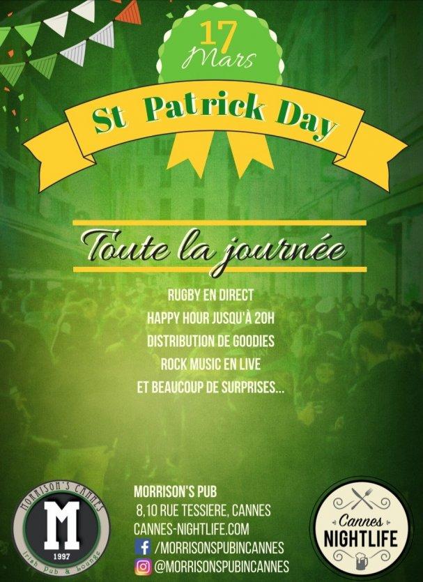 St Patrick's Day au Pub