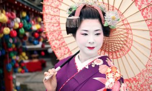 Geisha.- © Jona SANPO Tokyo