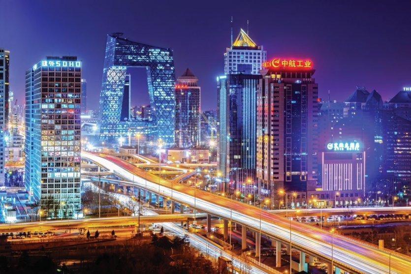 Pékin de nuit.