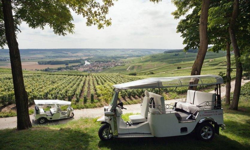Le vignoble de Champagne, des visites insolites en pagaille