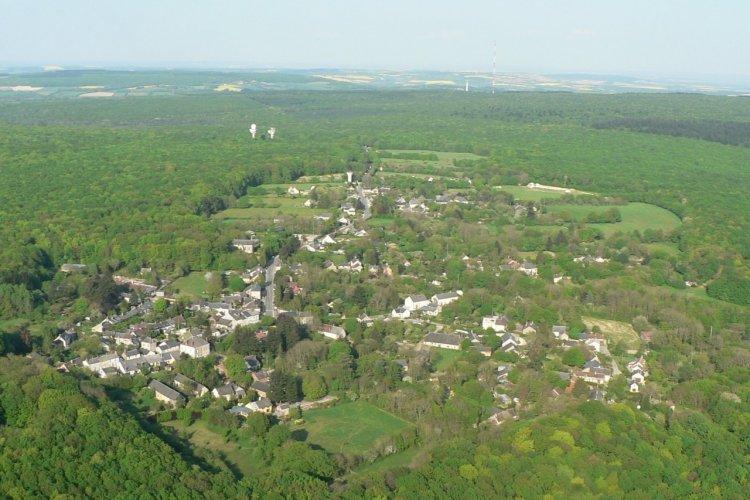 Vue générale de La Borne. - © Mairie d'Henrichemont