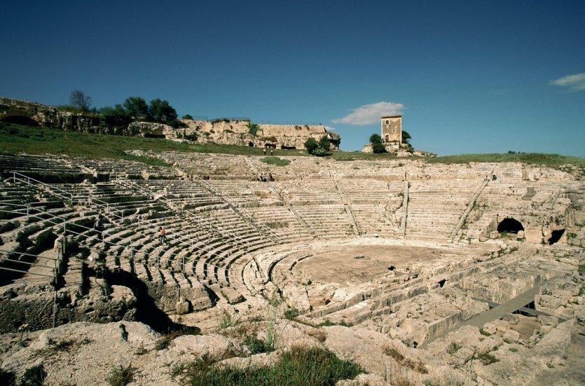 Théâtre grec de Syracuse.