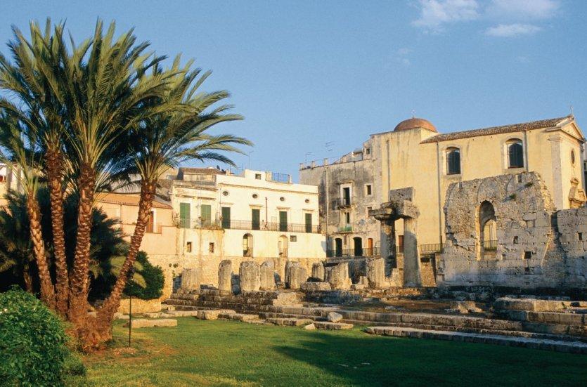 Temple d'Apollon.