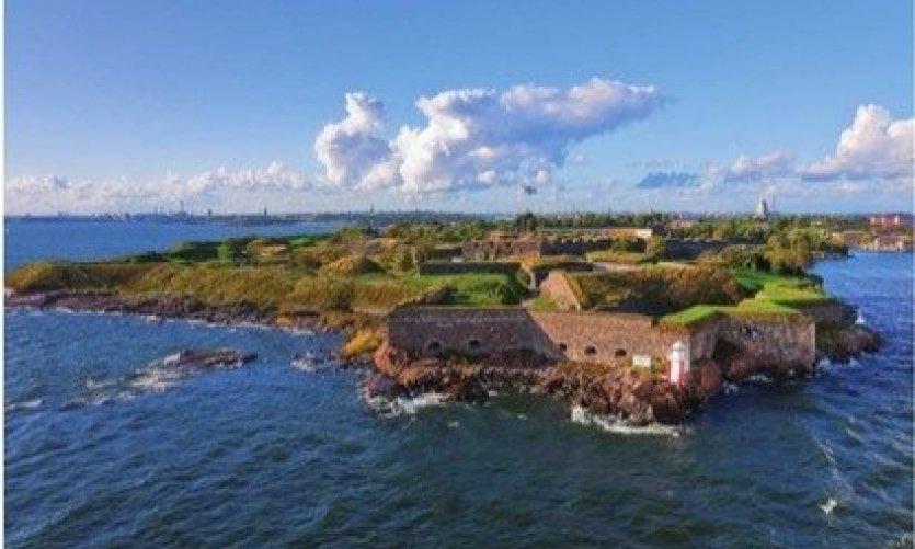 Forteresse de Suomenlinna en Finlande