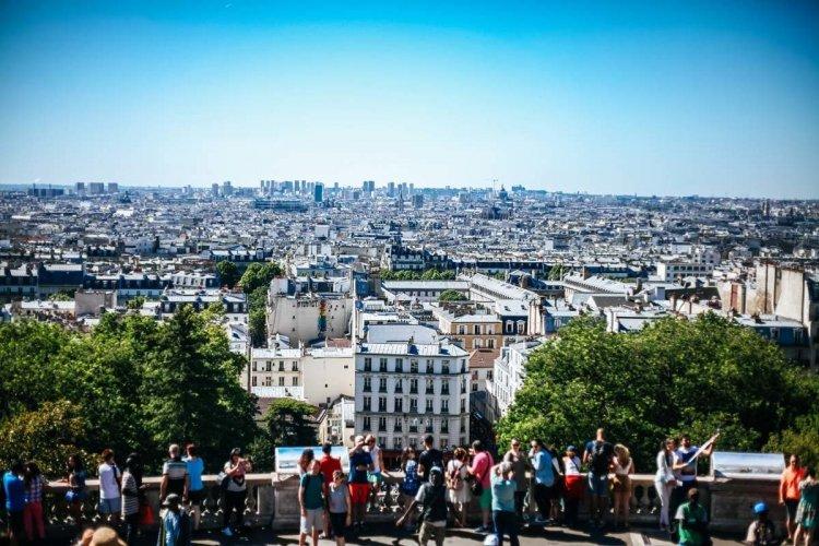 Vue depuis la terrasse du Sacré-Coeur - © FotoGraphic - Shutterstock.com