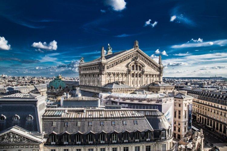 Vue depuis les Galeries Lafayette - © Noemie FONSINO