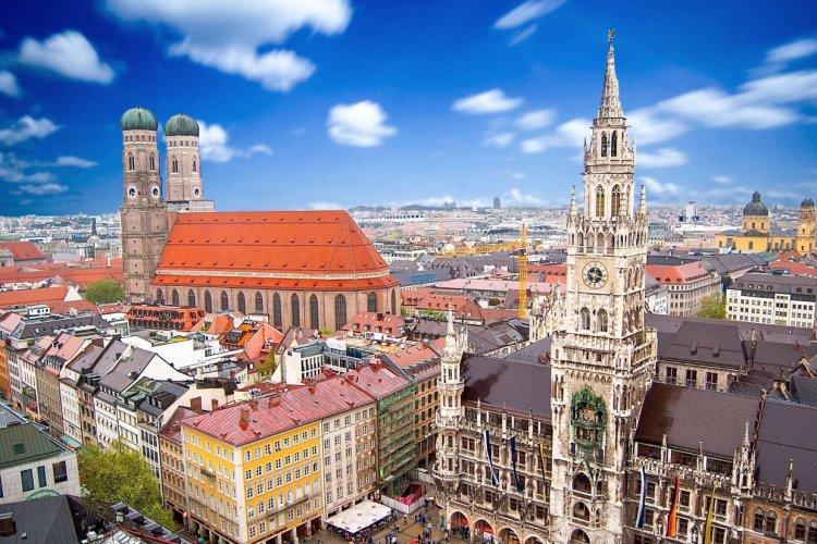 Vue sur la ville de Munich. - © Alexi TAUZIN - Fotolia