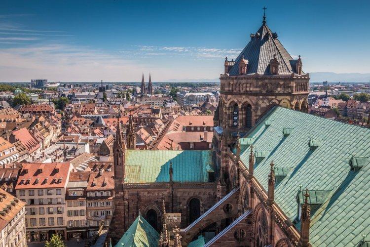 Vue sur Strasbourg. - © pcalapre / Adobe Stock