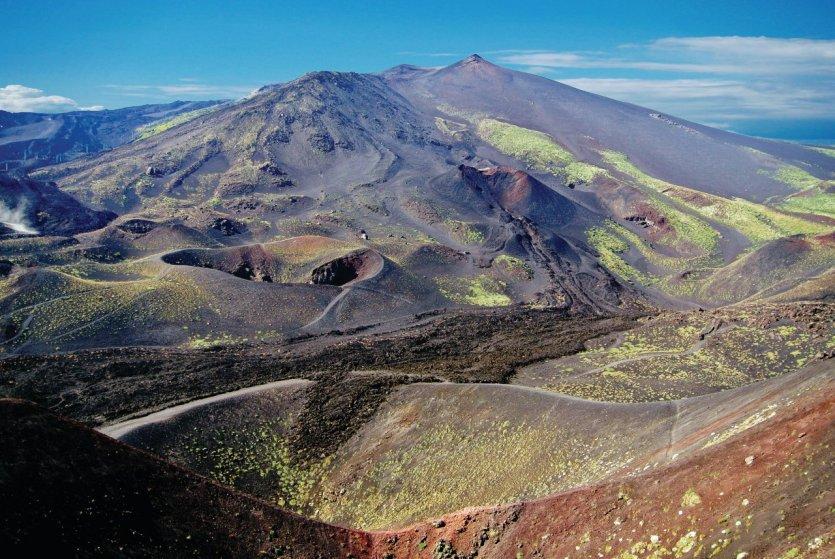 Le Mont Etna.