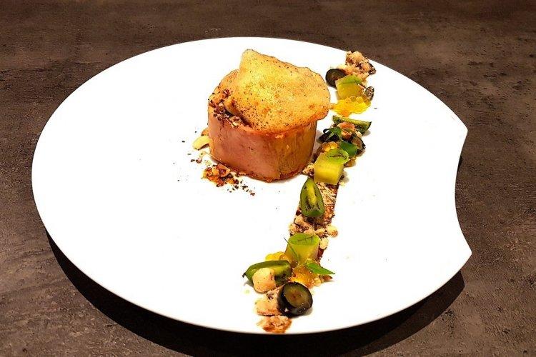Foie gras au safran - © Laurent BOSCHERO