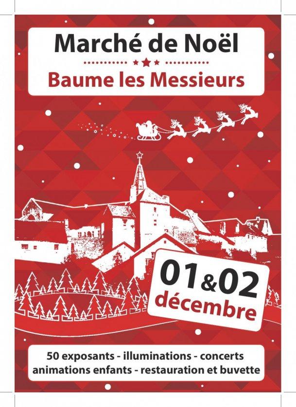 Marché de Noël de Baume Les Messieurs