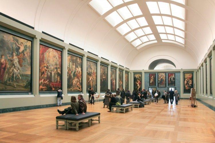La salle Rubens - Musée du Louvre - © Sylvain SONNET