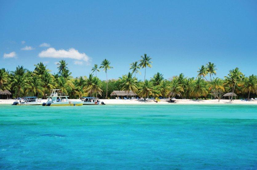 Plage tropicale et cocotiers, Punta Cana. - © gerisima - iStockphoto