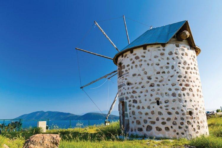 Vieux moulin près de Bodrum. - © EnginKorkmaz - iStockphoto
