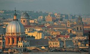 Panorama sur les toits et les dômes de Naples.- © Tom Pepeira - Iconotec
