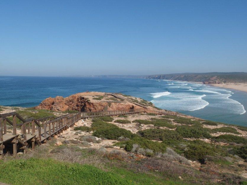Sentier pédestre de Praia da Bordeira.