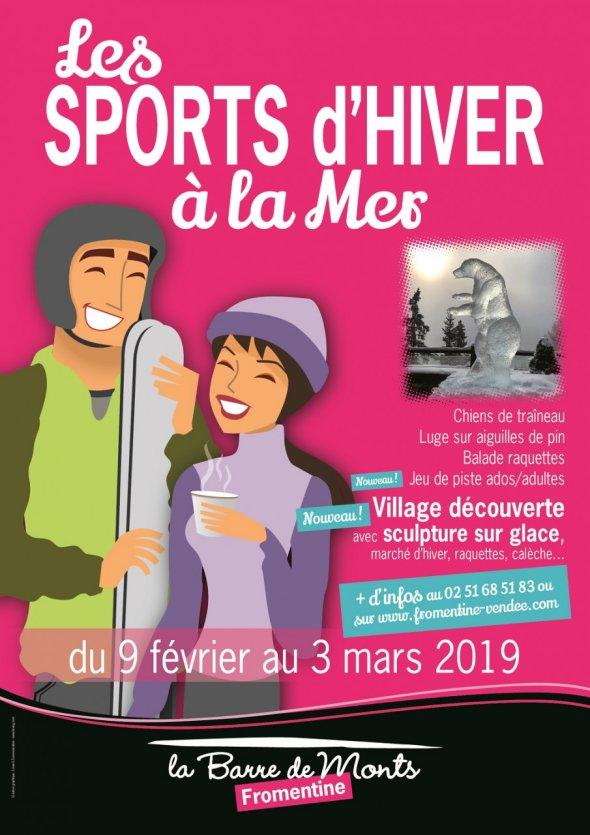 Sports d'Hiver à la mer du 9 février au 3 mars
