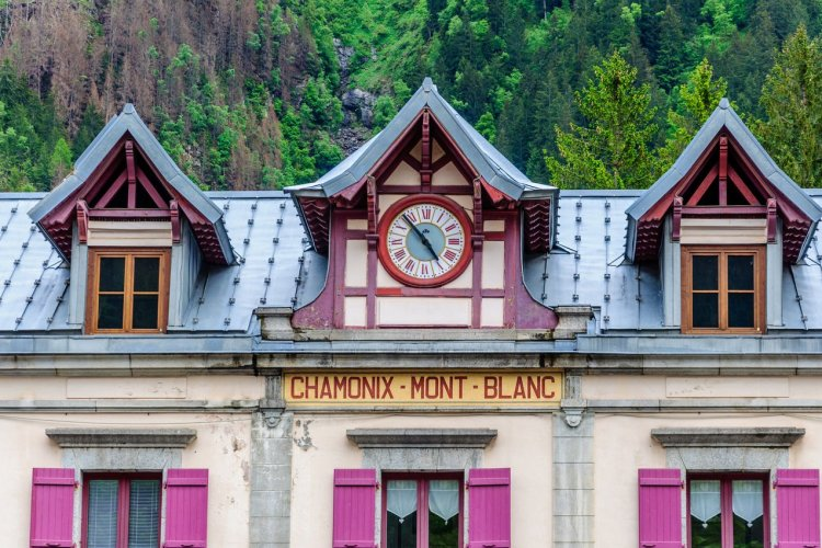 La gare de Chamonix-Mont Blanc - © jasckal - stock.adobe.com
