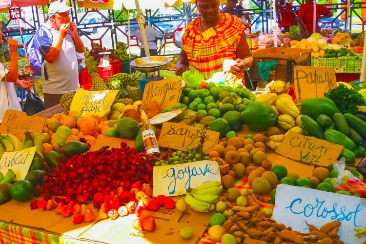 Solarisys - © Guadeloupe - Marché de Pointe à Pitre