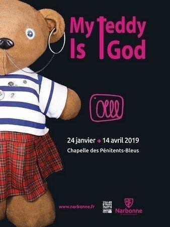 OLLL My Teddy is God - © Office de tourisme de Narbonne