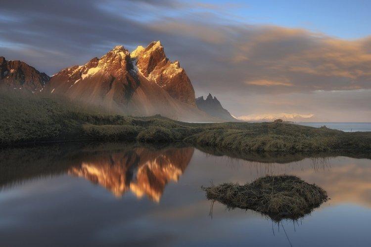Vestrahorn, la montagne emblématique de l'Islande du sud - © guidetoiceland