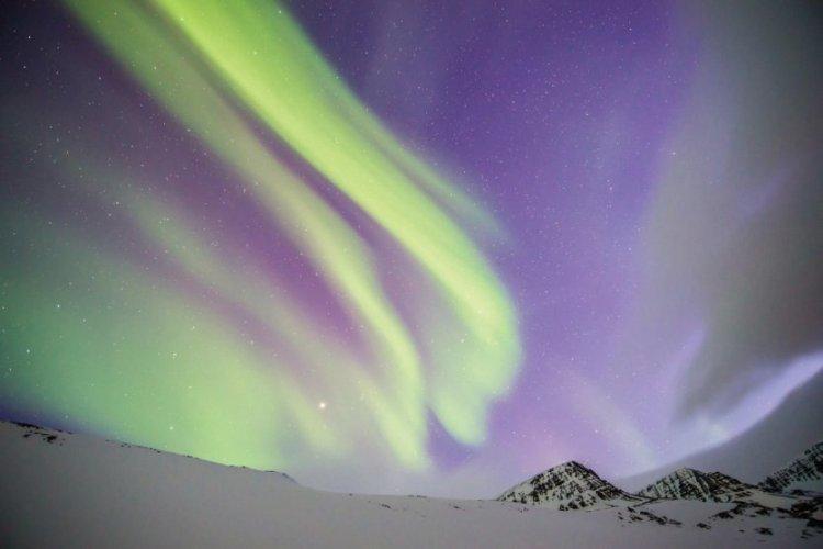 Une aurore boréale aux alentours de Reykjavík - © Istockphoto - coolkengzz