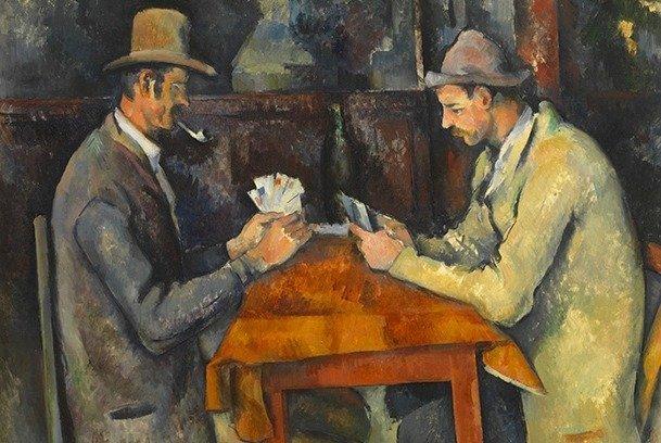 The Courtauld Gallery (The Samuel Courtauld Trust), Londres - © Paul Cézanne, Joueurs de cartes