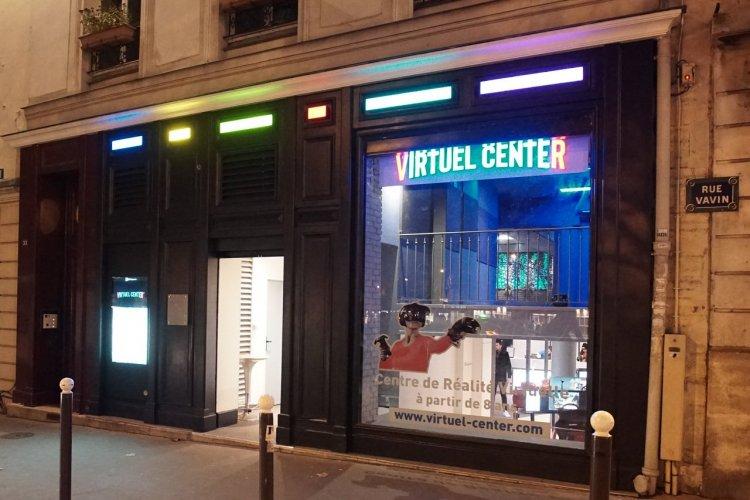 L'entrée du Virtuel Center Montparnasse - © Virtuel Center Montparnasse