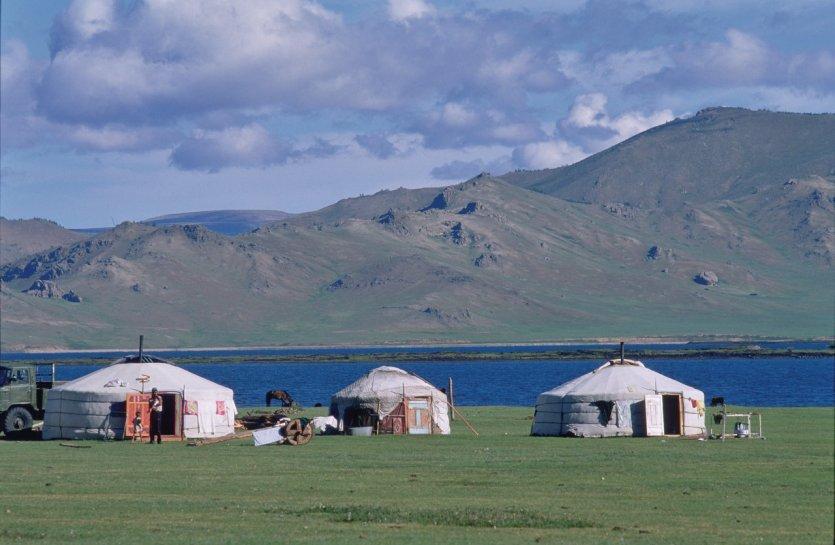 Lac Therkhiin Tsagaan Nuur. - © Eric Martin - Iconotec