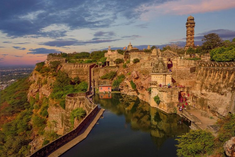 Le fort de Chittorgarh - © Lana Kray