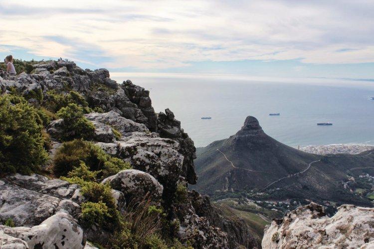 Lion's Head vu de Table Mountain - © Abdesslam Benzitouni