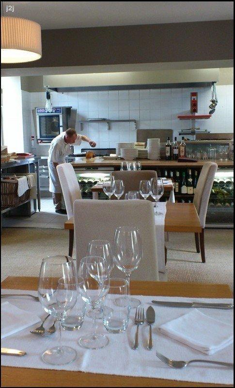L 39 auberge des saveurs chasseneuil une p pite for Cuisine ouverte restaurant norme