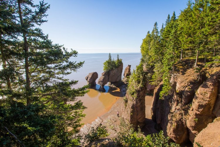 Baie de Fundy, Nouveau-Brunswick - © Lucie Kusova - Shutterstock.com