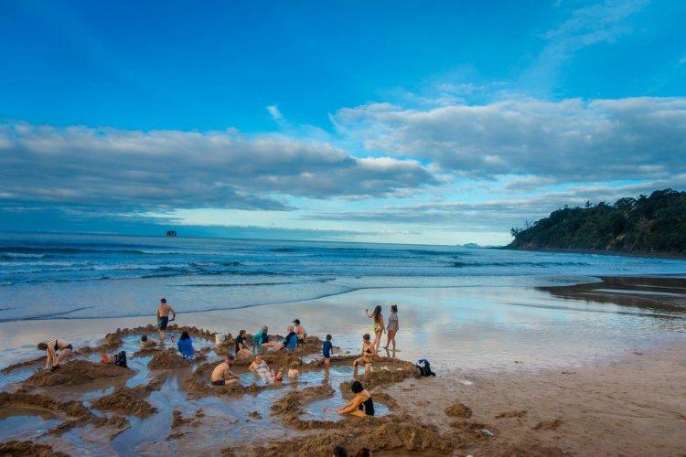 Hot Water Beach, Nouvelle-Zélande - © Fotos593 - Shutterstock.com