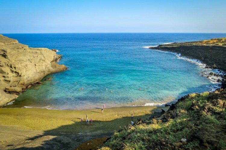 Plage de Papakolea, Hawaii - © Christopher Mazmanian - Shutterstock.com