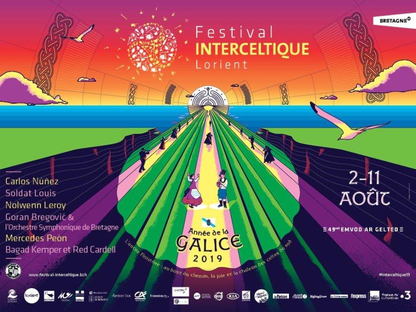 Affiche 2019 - © Festival Interceltique de Lorient